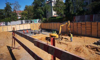 Construction progress 16.10.2020