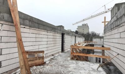 Construction progress 22.02.2021