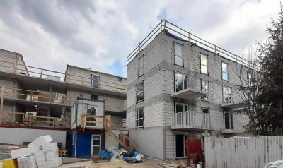 Construction progress 22.04.2021